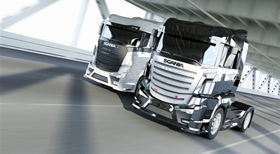 Ilustrační fotografie - kamiony