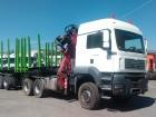MAN TGA 33.480 6x6 pro přepravu dřeva